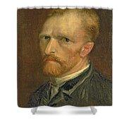 Self Portrait, 1886 Shower Curtain
