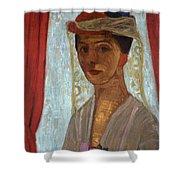 Self Portrait, 1906-7 Shower Curtain
