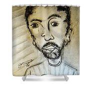 Self-portrait #2 Shower Curtain