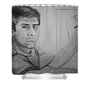 Self Portrait By Stacy C Bottoms Shower Curtain