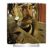 Self Portrait, C.1865 Panel Shower Curtain