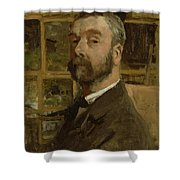 Self Portrait, C.1884 Shower Curtain