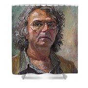 Self Portrait Shower Curtain