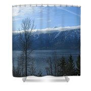 Selkirks In Fall Shower Curtain