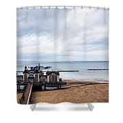 Sellin Pier 2 Shower Curtain