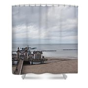 Sellin Pier Shower Curtain