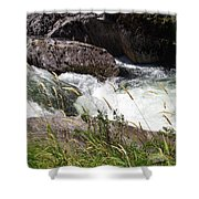 Selway Falls Shower Curtain