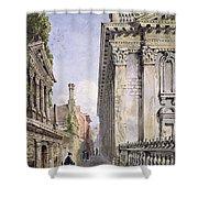 Senate House Passage, Cambridge, 1843 Shower Curtain