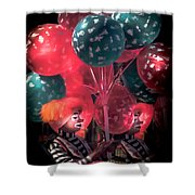Send In The Clowns Shower Curtain