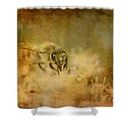 Send The Bees Love Shower Curtain