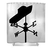 Senecas Ship Shower Curtain
