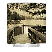 Seney Osprey Shower Curtain