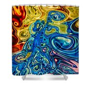 Sensational Colors Shower Curtain