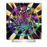 Sense Creation Five Shower Curtain