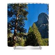 Sentinel Dome, Yosemite Np Shower Curtain