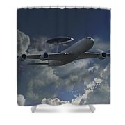 Sentry Shower Curtain