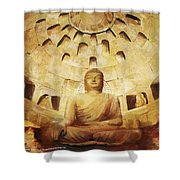 Seokguram Grotto And Bulguksa Temple Shower Curtain