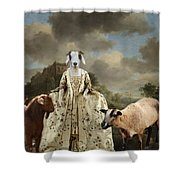 Separating The Sheep From The Goats Shower Curtain