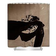 Sepia Shower Curtain