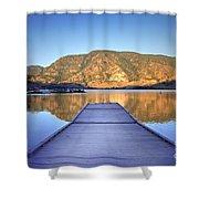 September 1st At Skaha Lake Shower Curtain