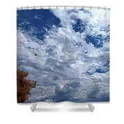 September Afternoon Shower Curtain