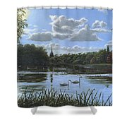 September Afternoon In Clumber Park Shower Curtain