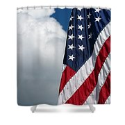 September Flag Shower Curtain