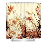 September Song Shower Curtain