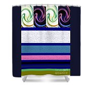Sequence 2 Shower Curtain