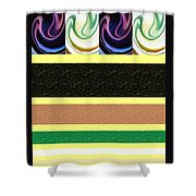 Sequence Shower Curtain