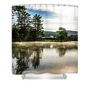 Serene Morning Shower Curtain