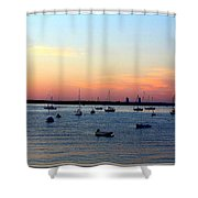 Serenity At The Bay Shower Curtain
