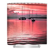 Serenity Bay Dreams Shower Curtain