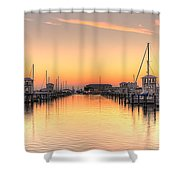 Serenity Harbor 1 Shower Curtain