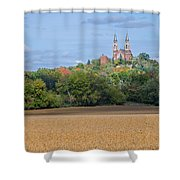 Serenity On High   Shower Curtain