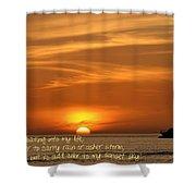 Serenity Sunset Shower Curtain