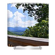 Serenity View Shower Curtain