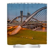 Seri Empangan Bridge Shower Curtain