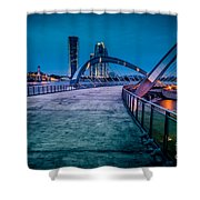 Seri Gemilang Bridge 1 Shower Curtain
