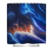 Seria Nebula Shower Curtain