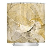 Series Abstract Art In Earth Tones 1 Shower Curtain