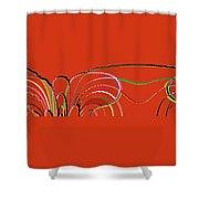 Serpentine Shower Curtain