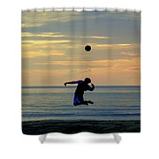 Serve's Up.. Shower Curtain
