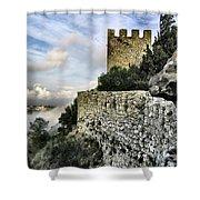 Sesimbra Castle Shower Curtain