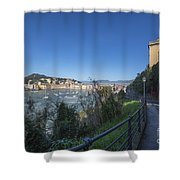 Sestri Levante And A Street Shower Curtain