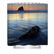 Set In Sand Shower Curtain