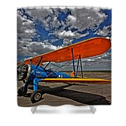 Set To Fly Shower Curtain