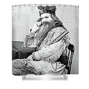 Seth Kinman (1815-1888) Shower Curtain