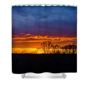 Setting Beauty Shower Curtain