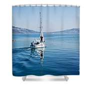 Setting The Sails Shower Curtain